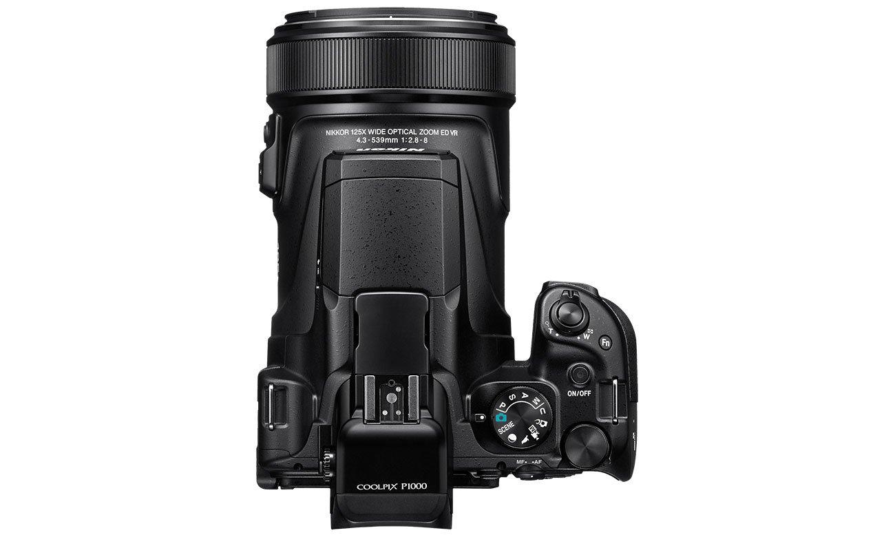 Nikon Coolpix P1000 Ergonomiczna Konstrukcja