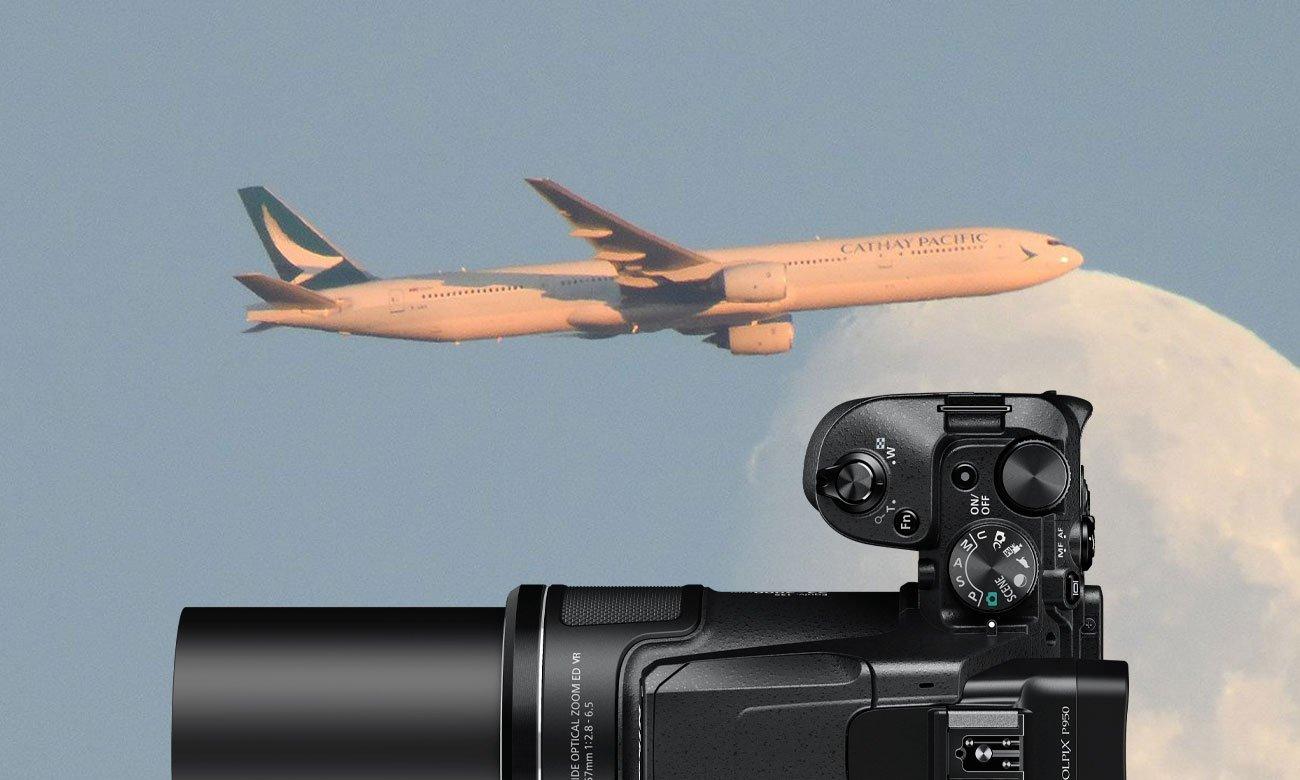 Nikon Coolpix P950 - Stabilizacja optyczna i zoom
