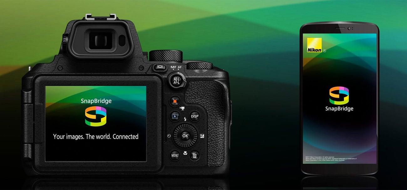 Nikon Coolpix P950 - Aplikacja SnapBridge