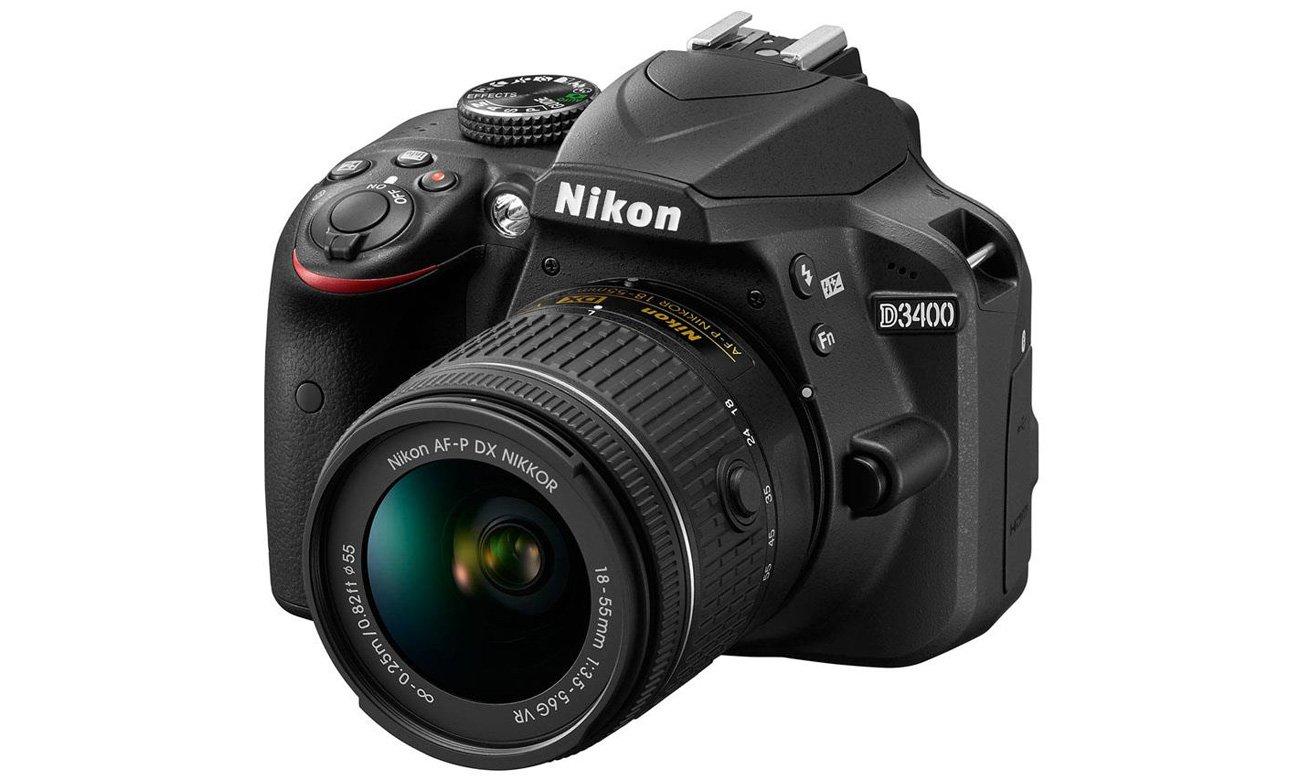 Lustrzanka Nikon D3400 + 18-55 VR VBA490K001