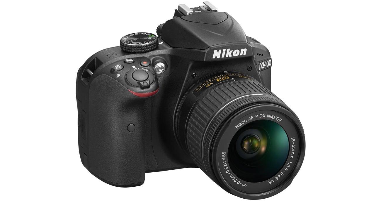 Lustrzanka Nikon D3400 z obiektywem