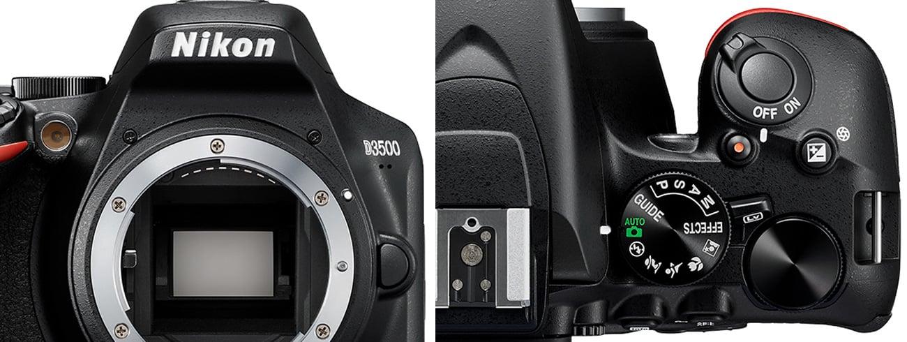Nikon D3500 Funkcje