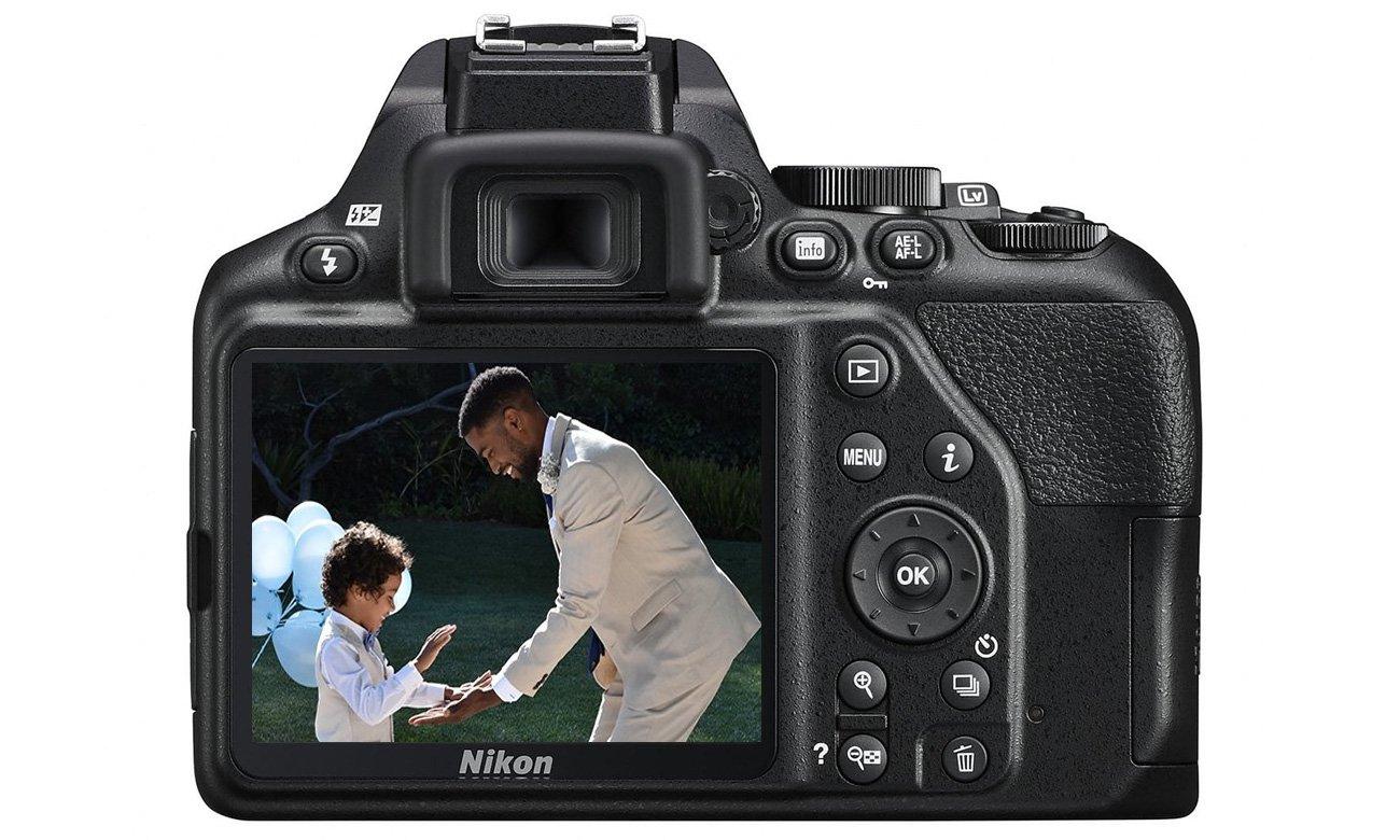Nikon D3500 Wyświetlacz