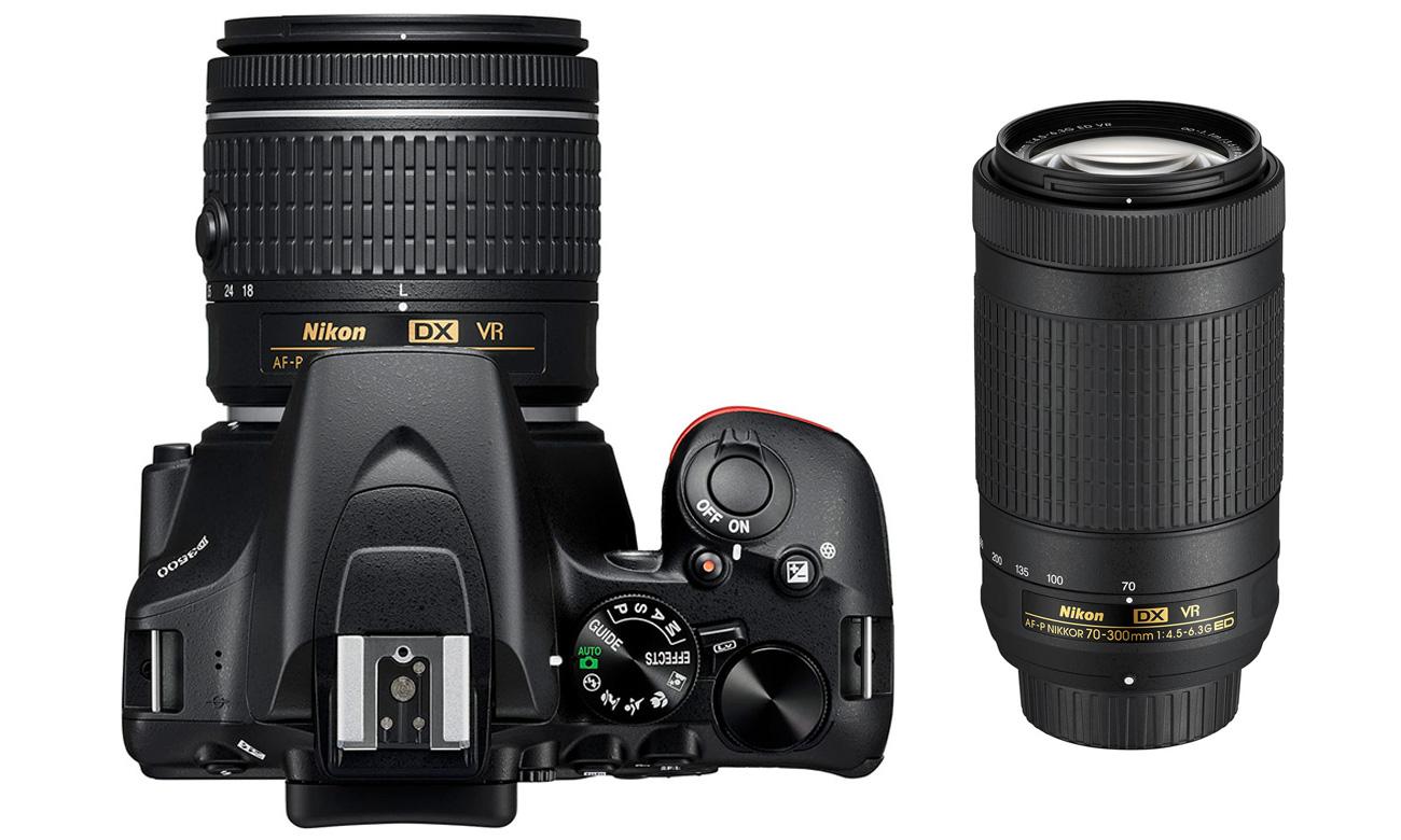 Nikon D3500 Widok Z Góry