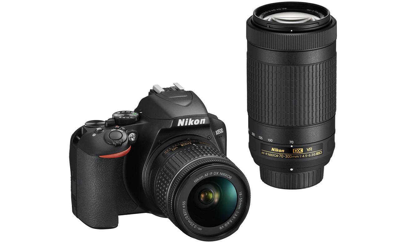 Nikon D3500 Widok Z Przodu