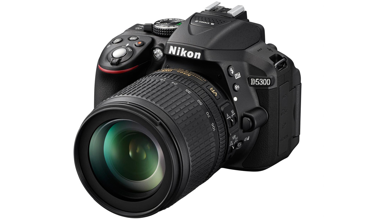 Lustrzanka Nikon D5300 czarny + 18-105VR