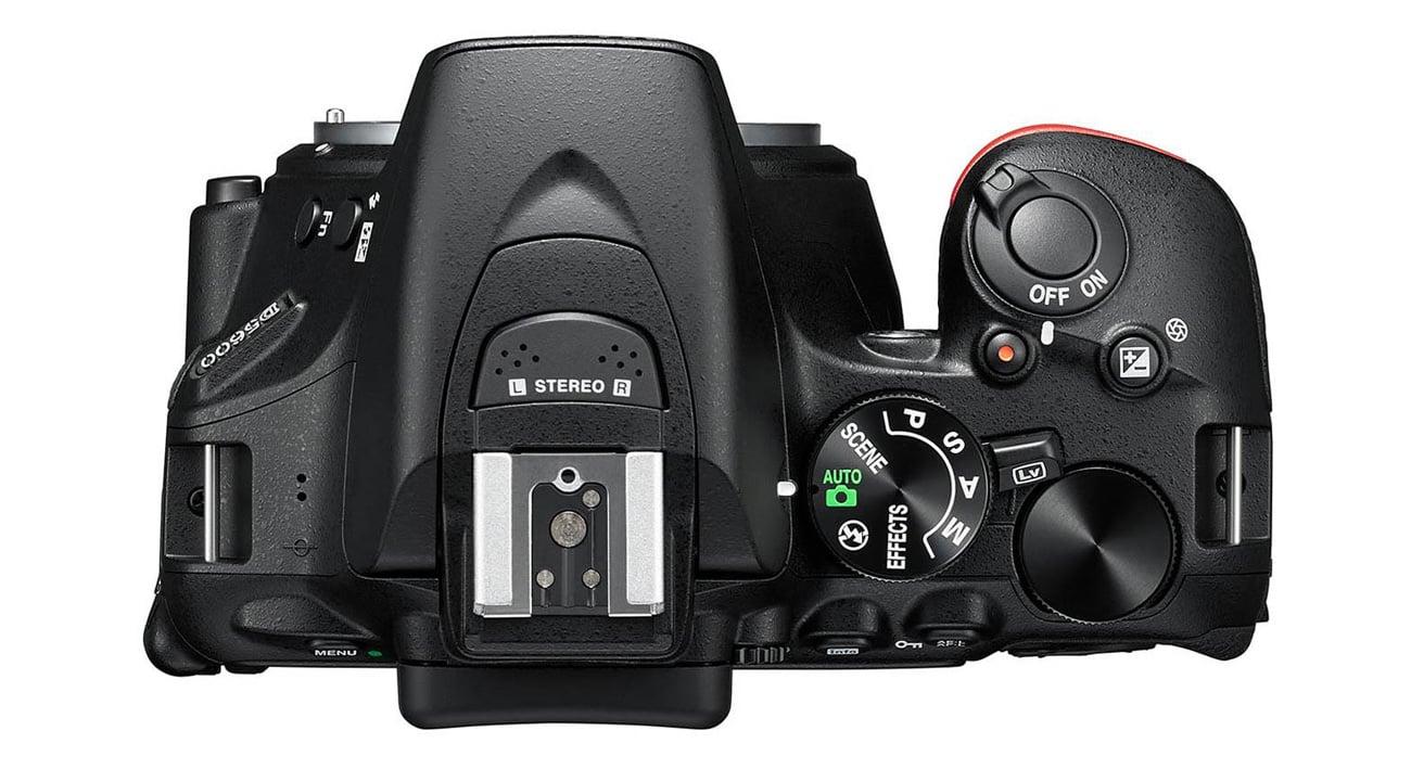 Nikon D5600 sterowanie