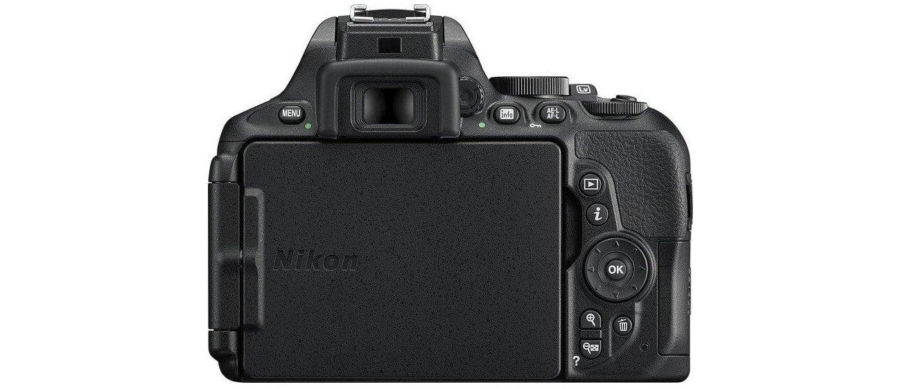 Nikon D5600 + AF-P 18-105 VR tył