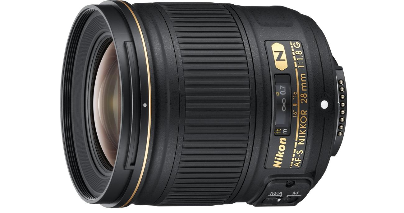 Nikon Nikkor AF-S 28mm f/1,8G