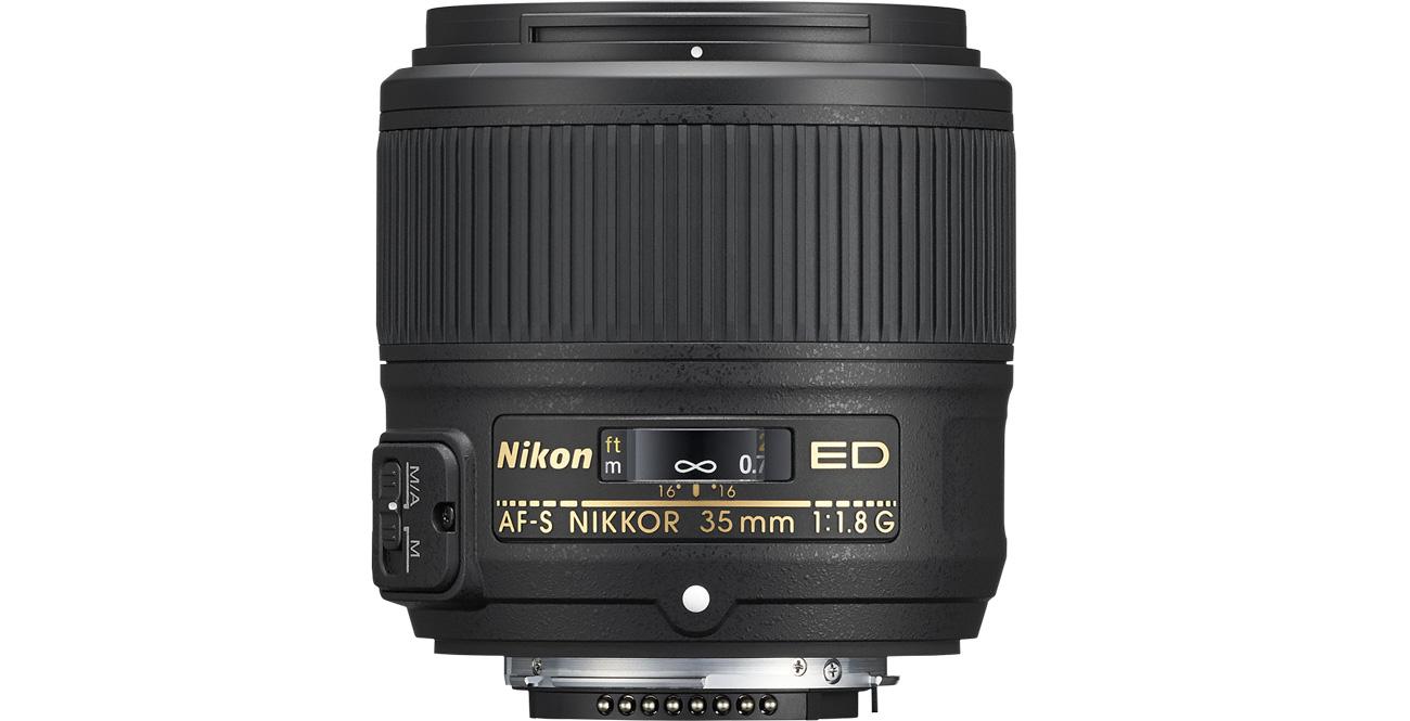 Nikon Nikkor AF-S 35mm f/1,8G ED
