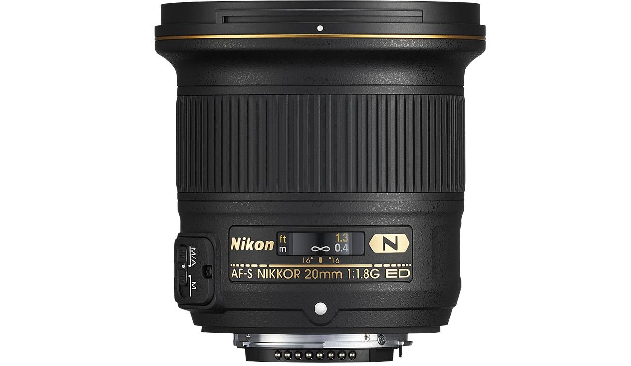 Nikon Nikkor AF-S 20mm f/1,8G ED