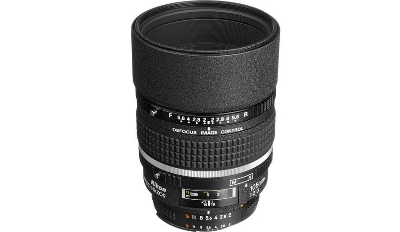 Nikon Nikkor AF DC 105mm f/2 D