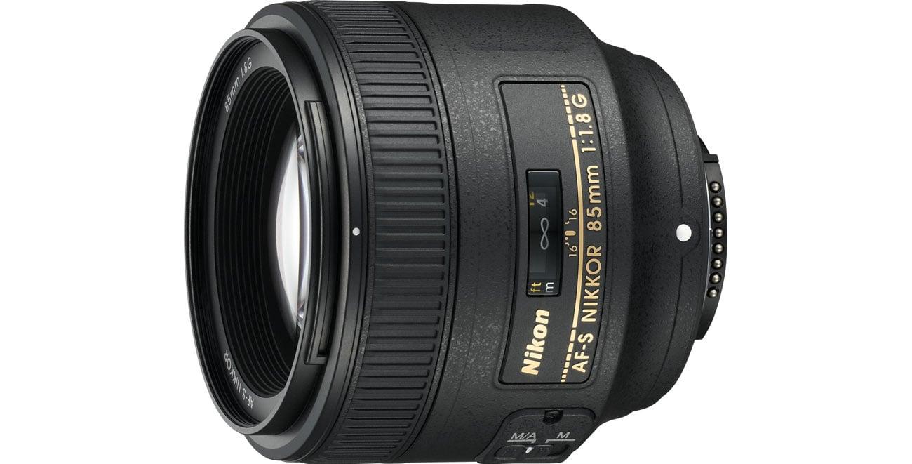 Obiektyw stałoogniskowy Nikon Nikkor AF-S 85mm f/1.8G
