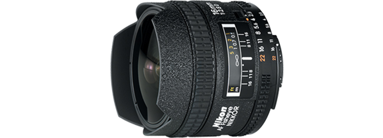 Nikon Nikkor AF Fish-Eye 16mm