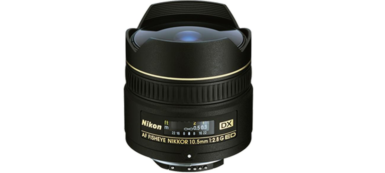 Nikon Nikkor AF-S Fish-Eye 10,5mm f/2,8G IF ED