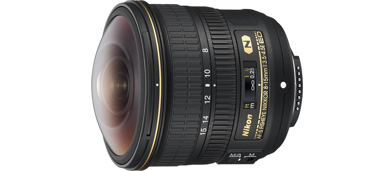 Nikon Nikkor Fish-Eye AF-S 8-15mm