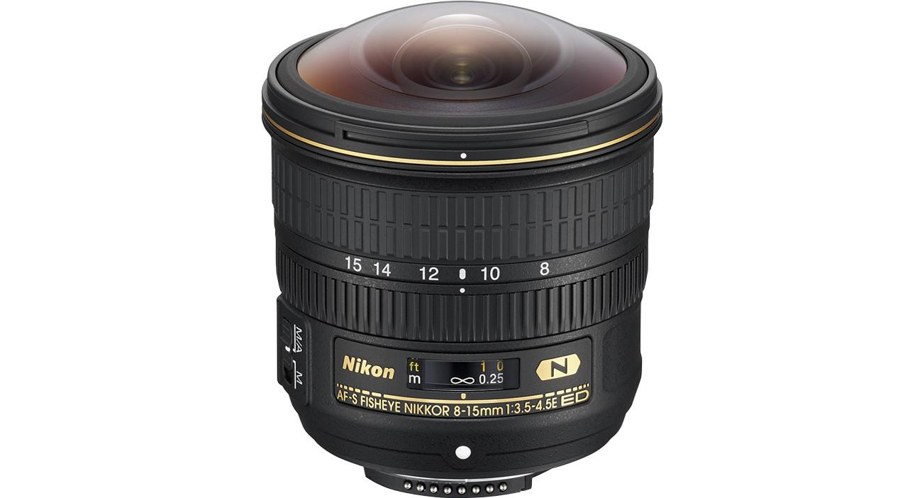Nikon Nikon Nikkor Fish-Eye AF-S 8-15mm