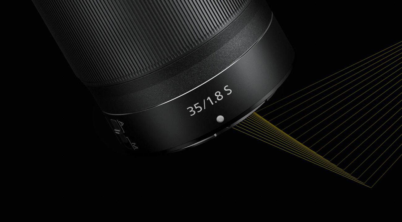 Nikkor Z 35mm f1.8 S - Pierścień