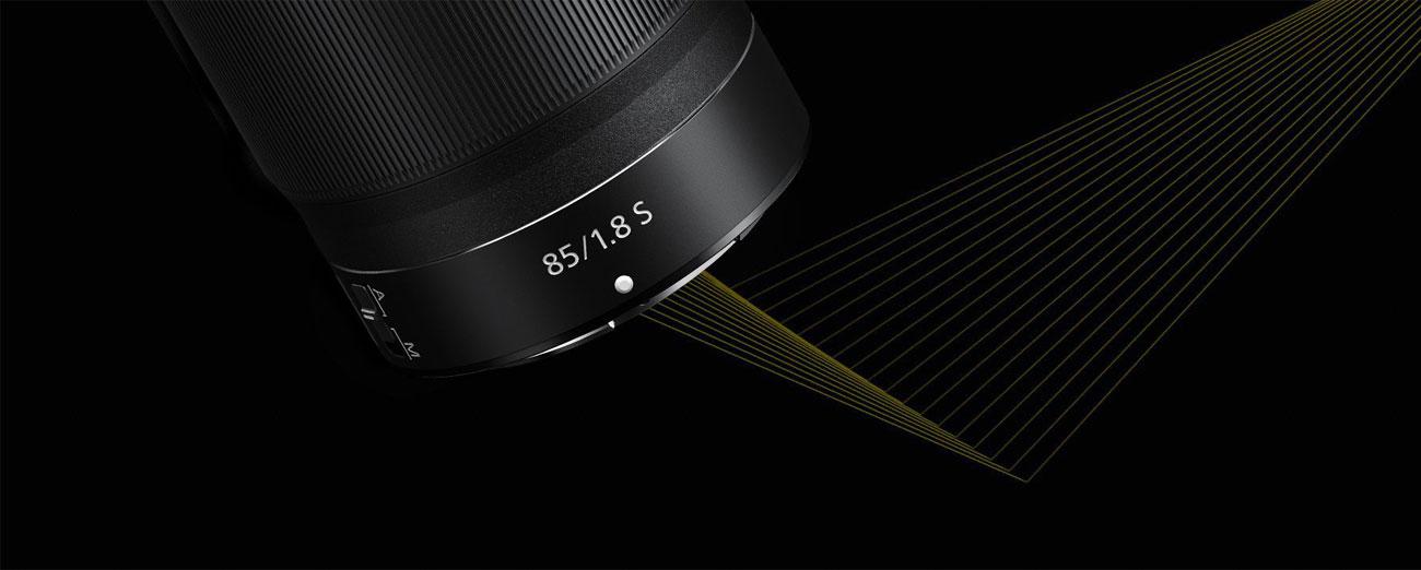 Obiektywy stałoogniskowy Nikon Nikkor Z 85mm f/1.8 S