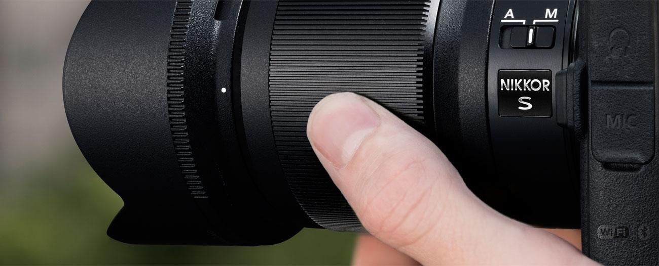 Nikkor Z 50mm f/1.8 S Pierścień