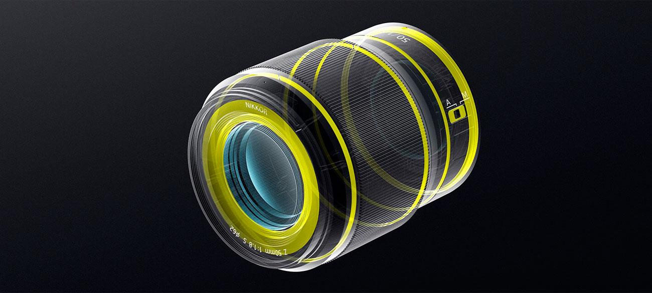 Nikkor Z 50mm f/1.8 S Uszczelnienie