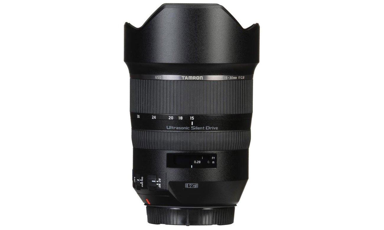 Nikon SP 15-30mm F/2.8 Di VC USD Rozmyte tło przy ustawieniach szerokokątnych