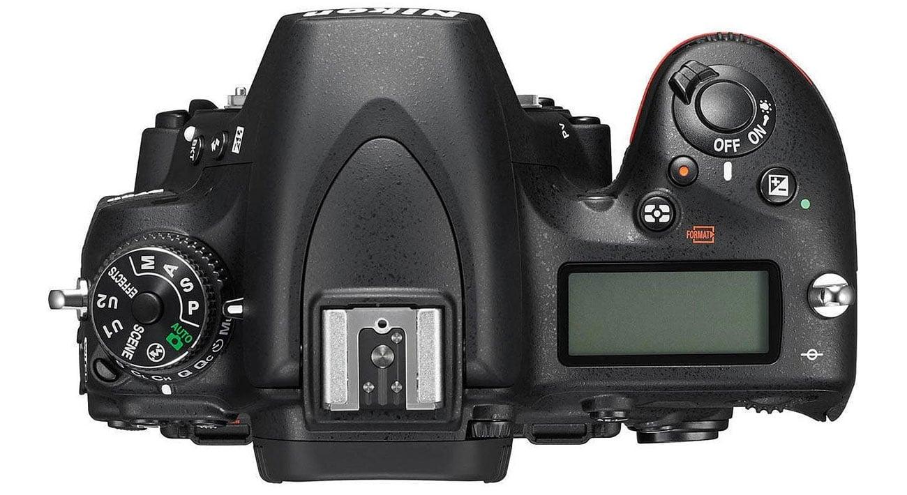 Nikon D750 body widok z gory