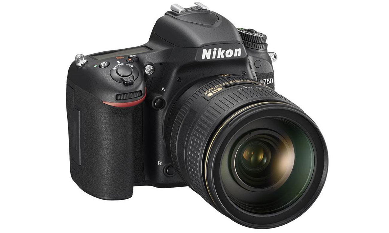 Nikon D750 body widok z boku