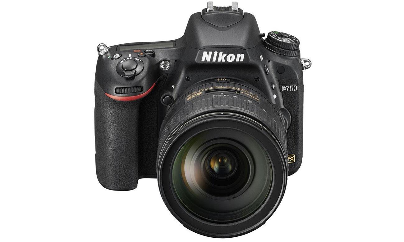 Nikon D750 body widok z przodu