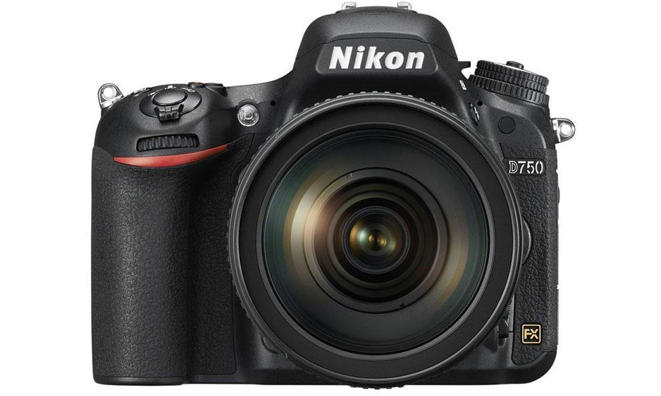 Nikon D750 body widok z przodu kluczowe cechy