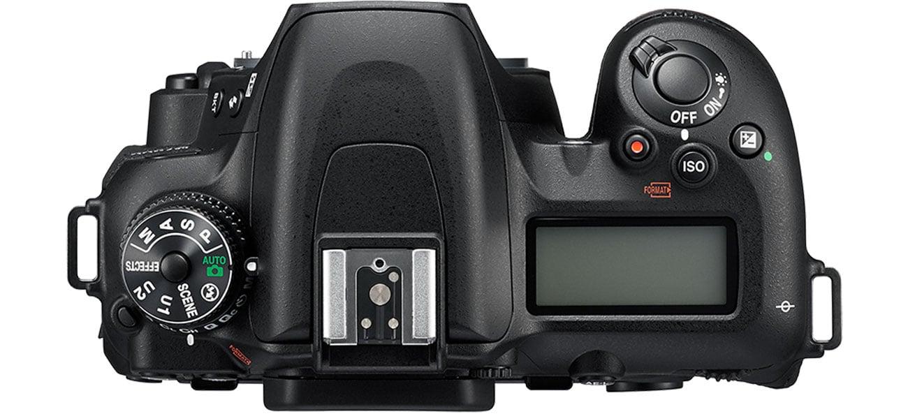 Nikon D7500 AF S DX 18 105 Ruchomy Wyświetlacz