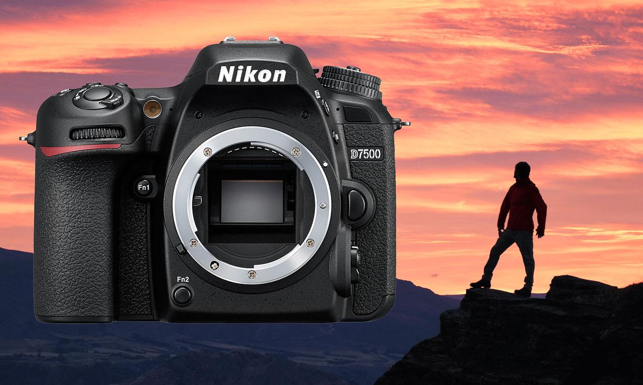 Nikon D7500 AF S DX 18 105 Człowiek Góry Body