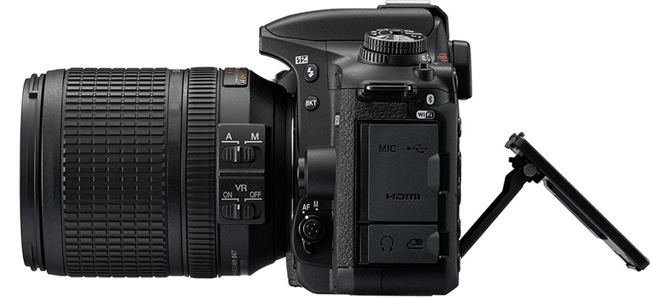Nikon D7500 AF S DX 18 105 Dotykowy ekran
