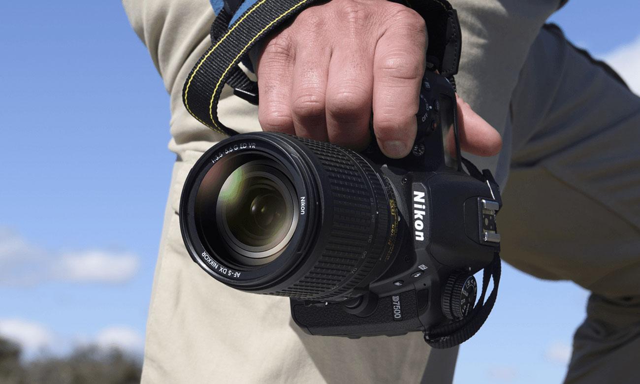 Nikon D7500 AF S DX 18 105 Wytrzymalosc