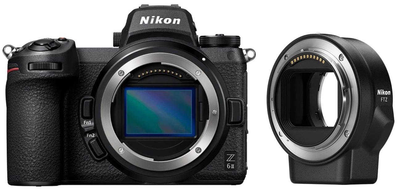 Aparat do tworzenia filmów Nikon Z6 II