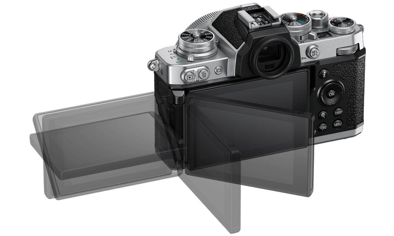 Kluczowe cechy Nikon Z fc + Z 16-50 F3,5-6,3 VR srebrny