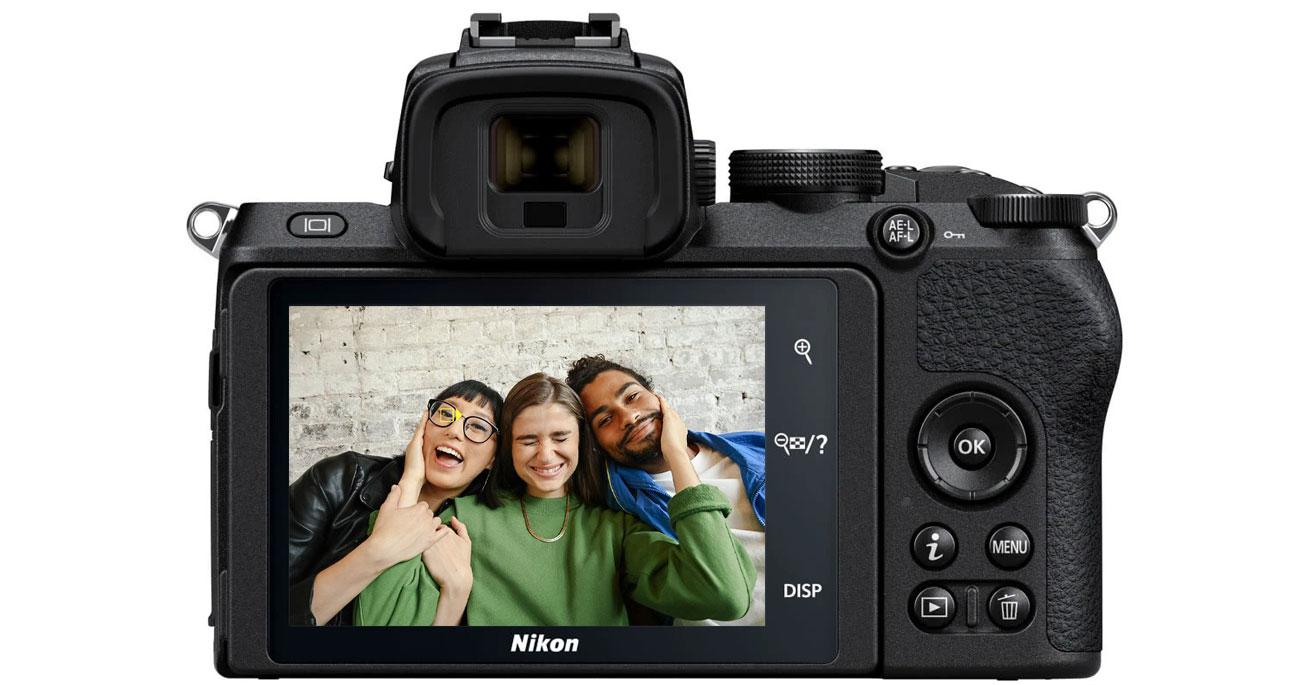 Aparat bezlusterkowy Nikon Z 50 Vlogger Kit