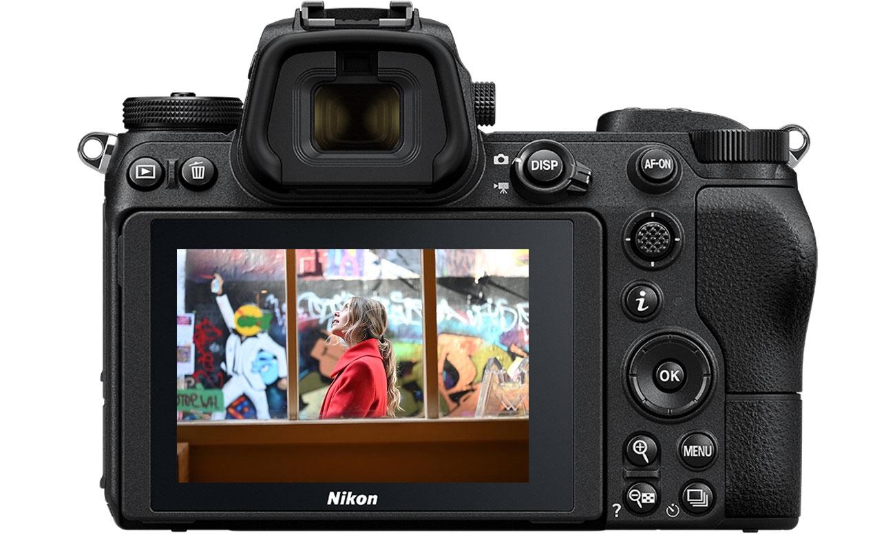 Nikon Z6 body wyświetlacz