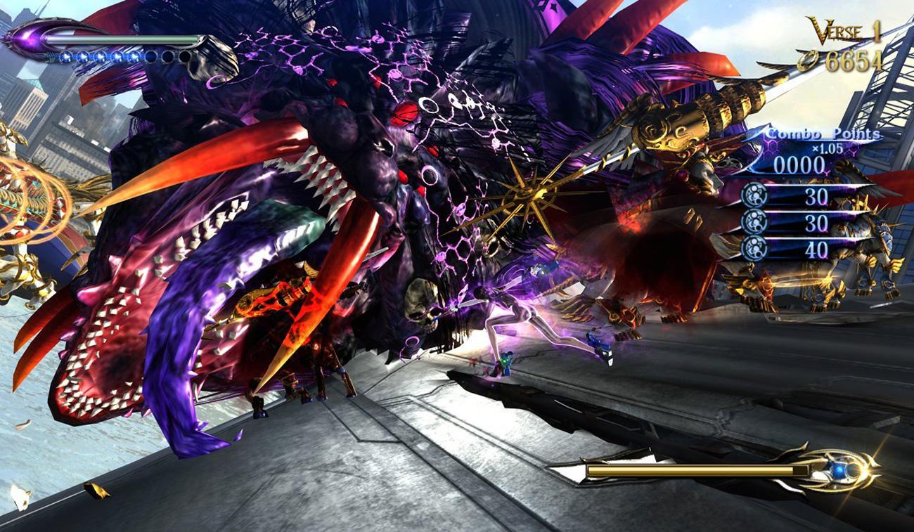 Niesamowita gra akcji Bayonetta 2