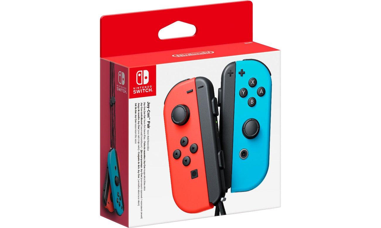 Nintendo Joy-Con Neon Red/Neon Blue 045496430566