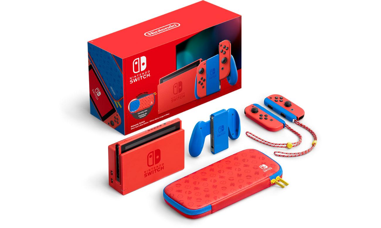 Nintendo Switch Joy-Con Red/Blue Mario Edition NSH075