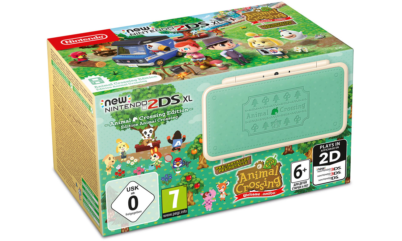 New Nintendo 2DS XL Animal Crossing Edition