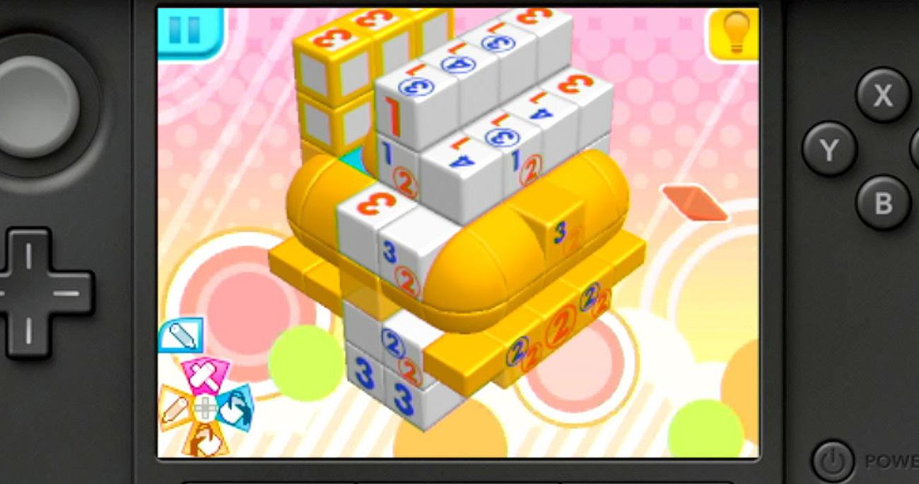 Nintendo 3DS Picross 3D Round 2
