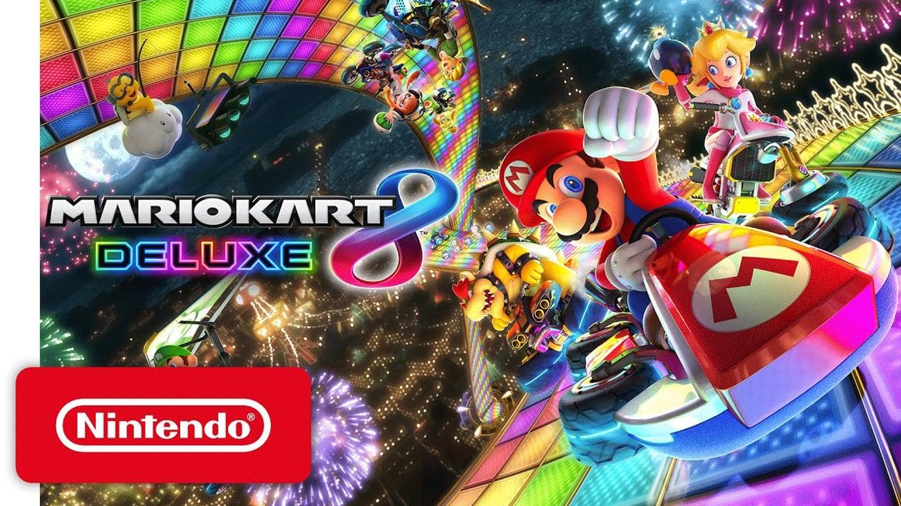 Mario Kart 8 Deluxe dla konsoli Nintendo Switch
