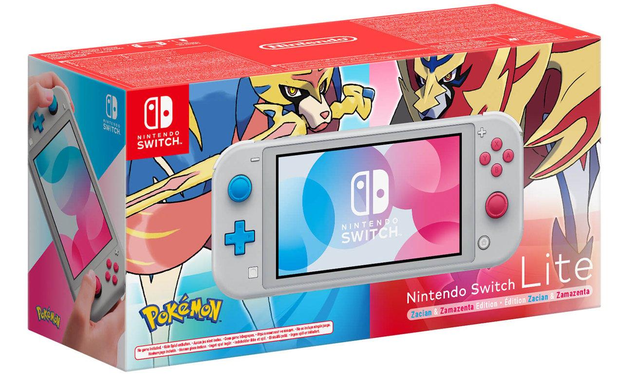 Edycja Specjalna Nintendo Switch Lite Zacian & Zamazenta