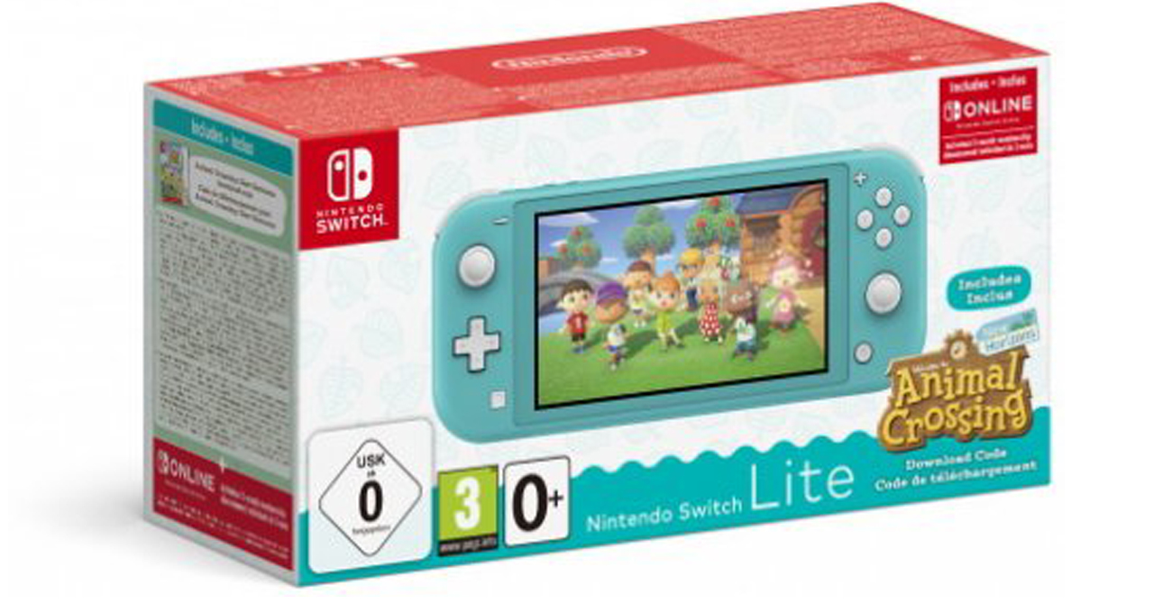 Zestaw Nintendo Switch Lite + Animal Crossing: NH + Abonament NSO 3 msc