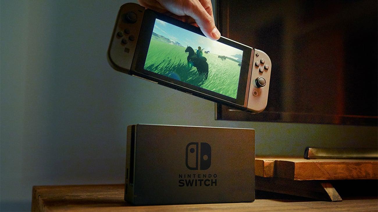Konsola Nintendo Switch Szary Joy-Con Graj w domu