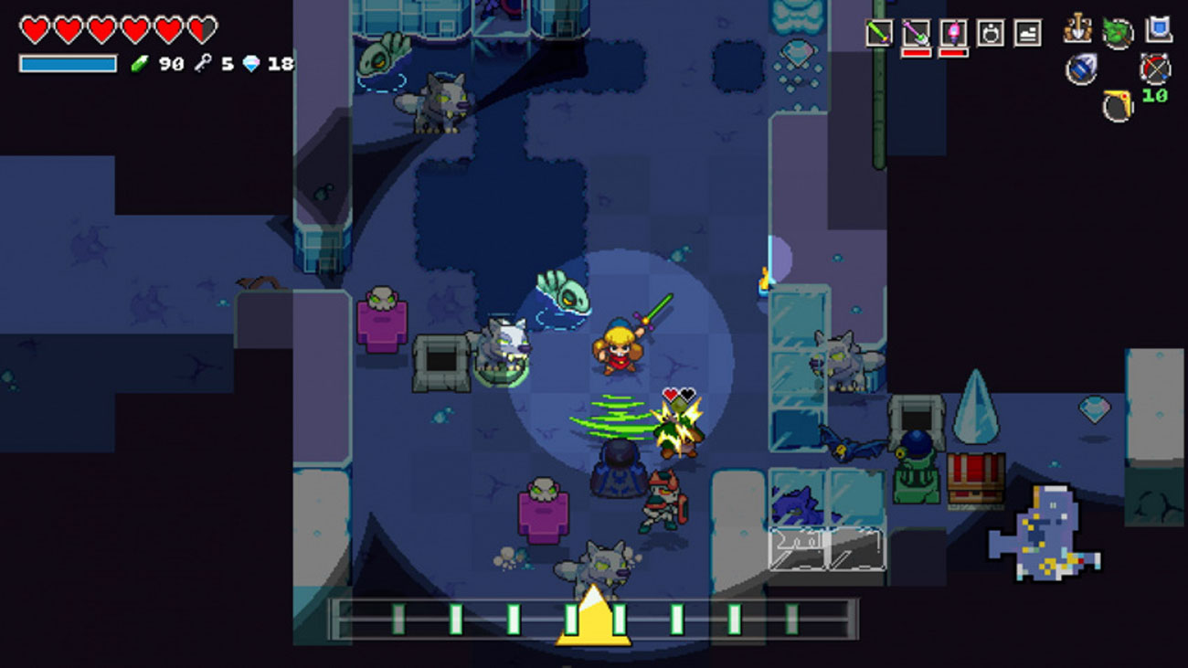 Gra Cadence of Hyrule: Crypt of the NecroDancer na Nintendo Switch