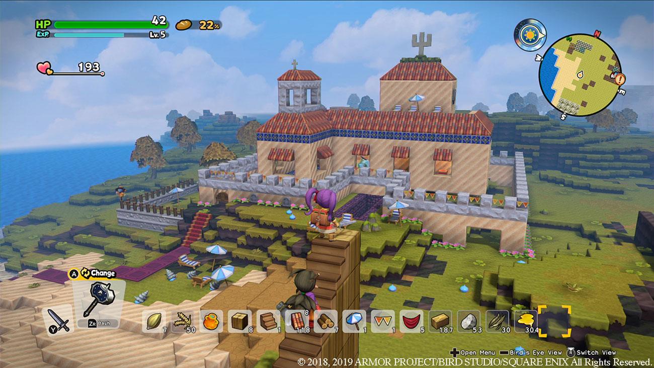 Gra Nintendo Switch Dragon Quest Builders 2