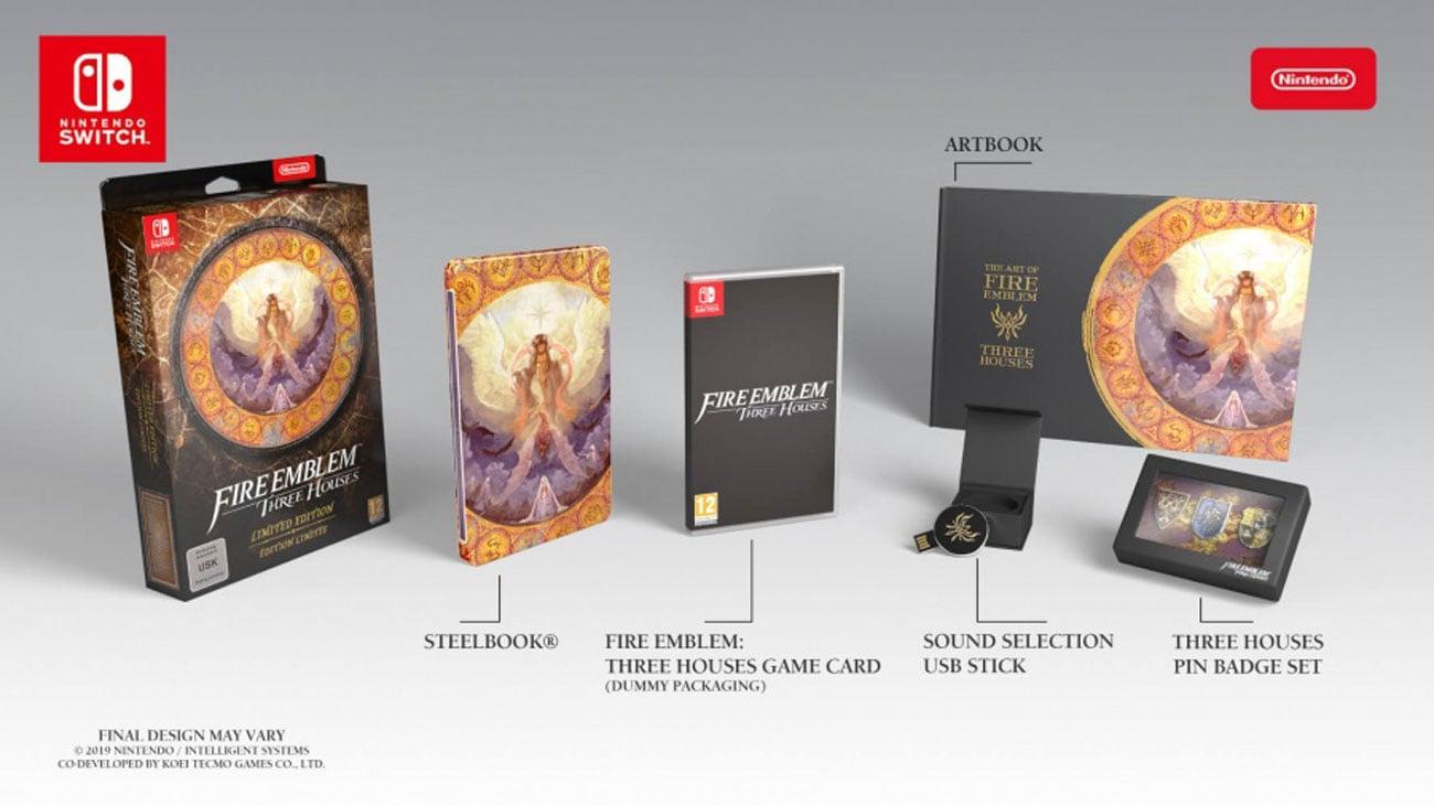 Gra Nintendo Switch Fire Emblem: Three Houses Edycja Limitowana
